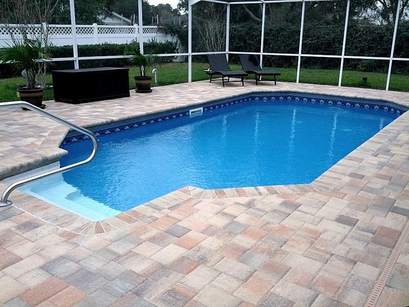 Pool decks brooksville florida fl for Florida pool and deck